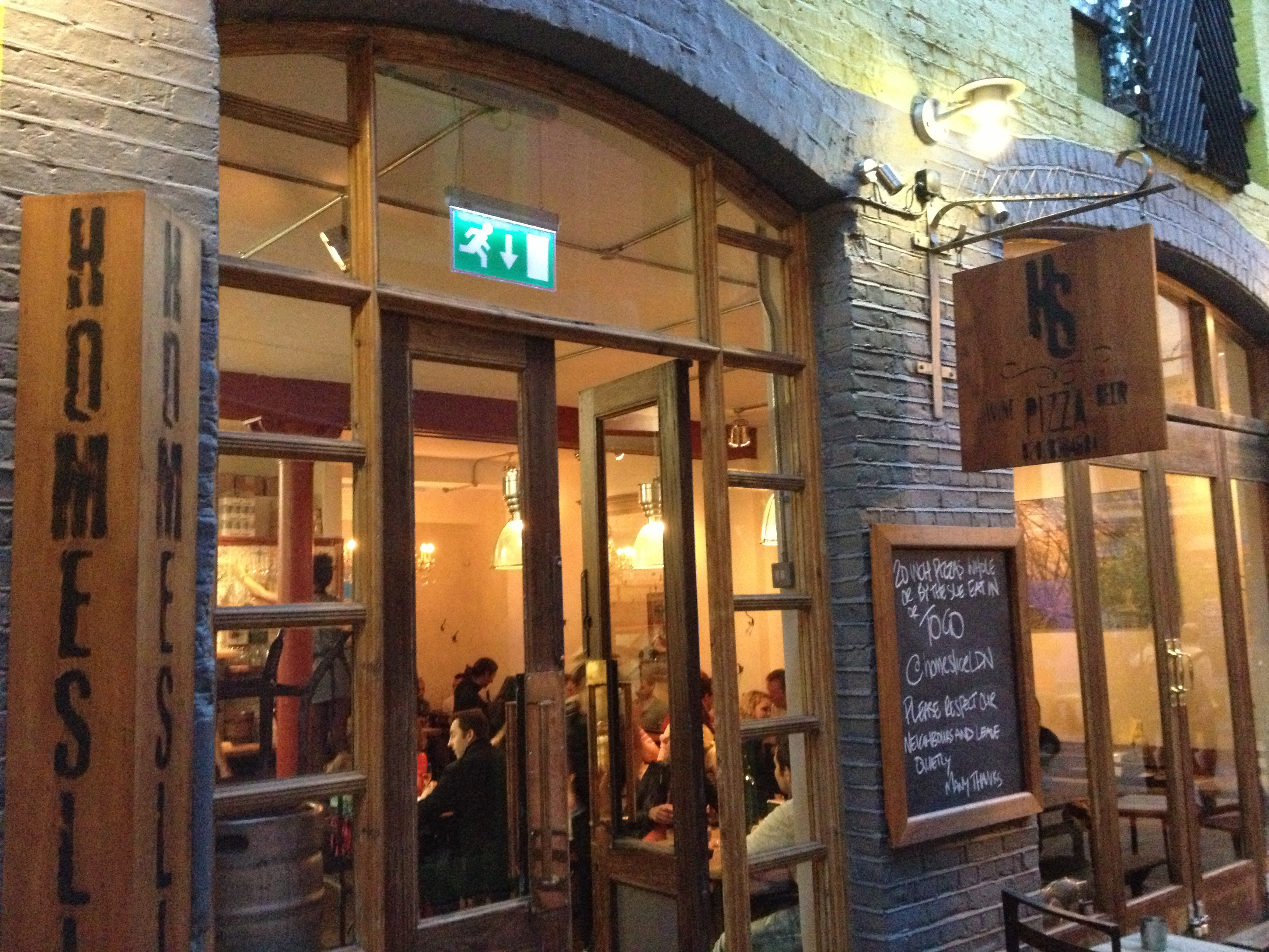Review: Homeslice Pizza, London – Just another London foodie