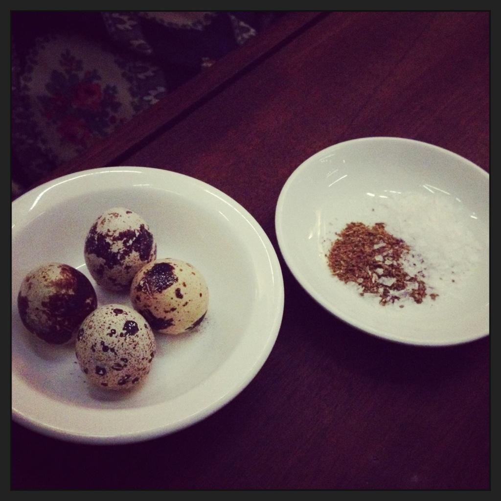 morito quails eggs