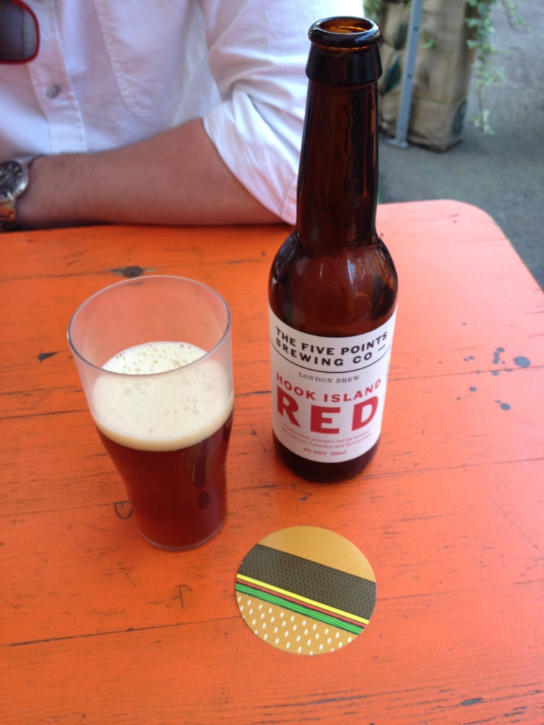 Hook Island Red The Five Points Brewing Co Emma Rose Tully