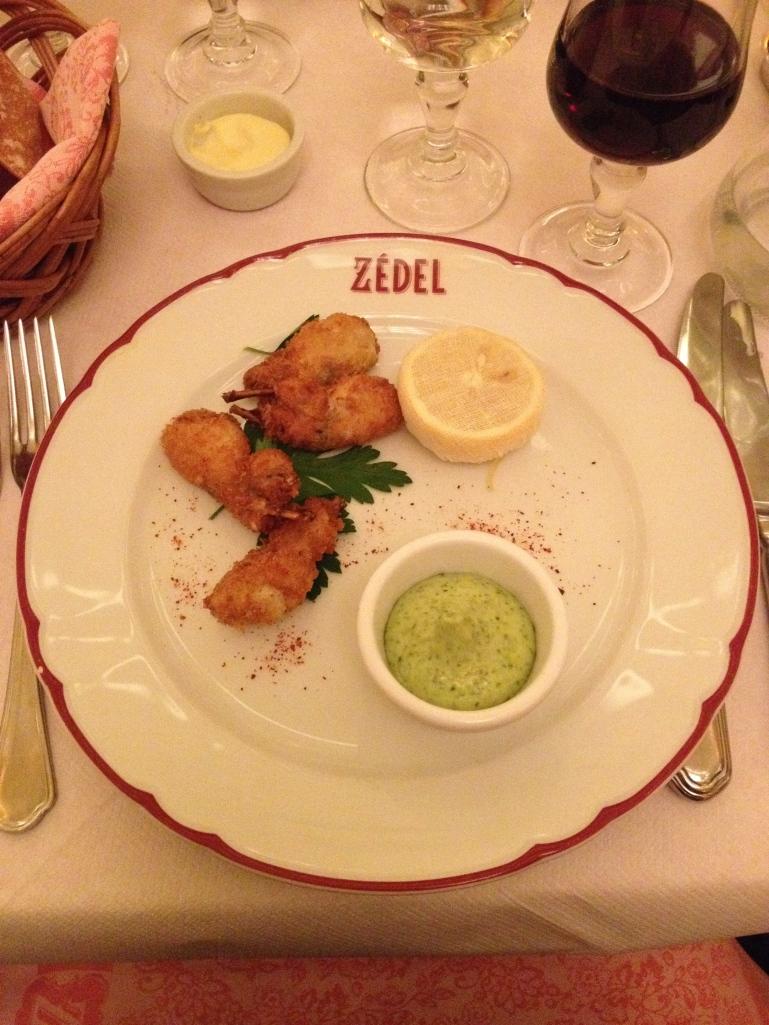 Cuisses de Grenouille Panées Brasserie Zédel