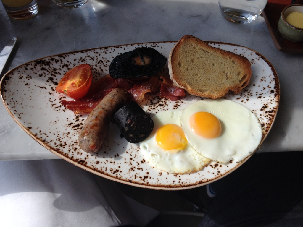 English breakfast Duck & Waffle Emma Rose Tully