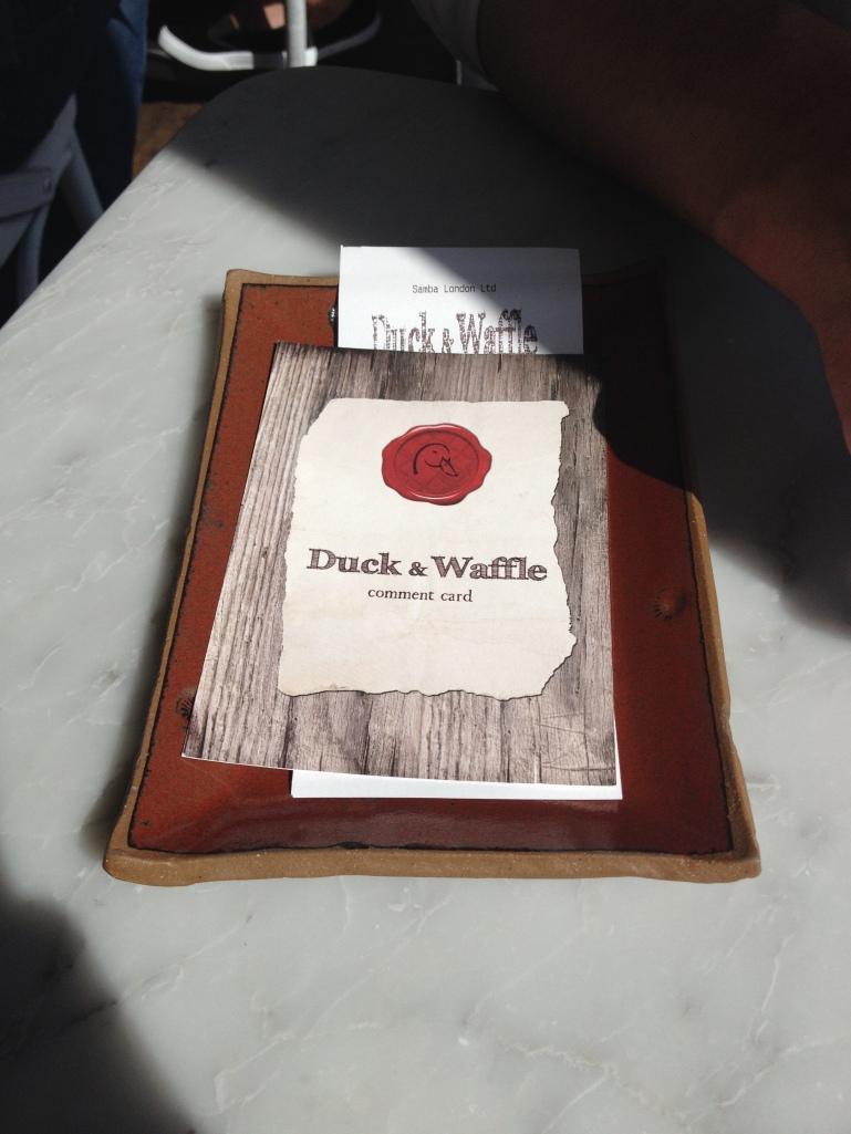Duck & Waffle Emma Rose Tully