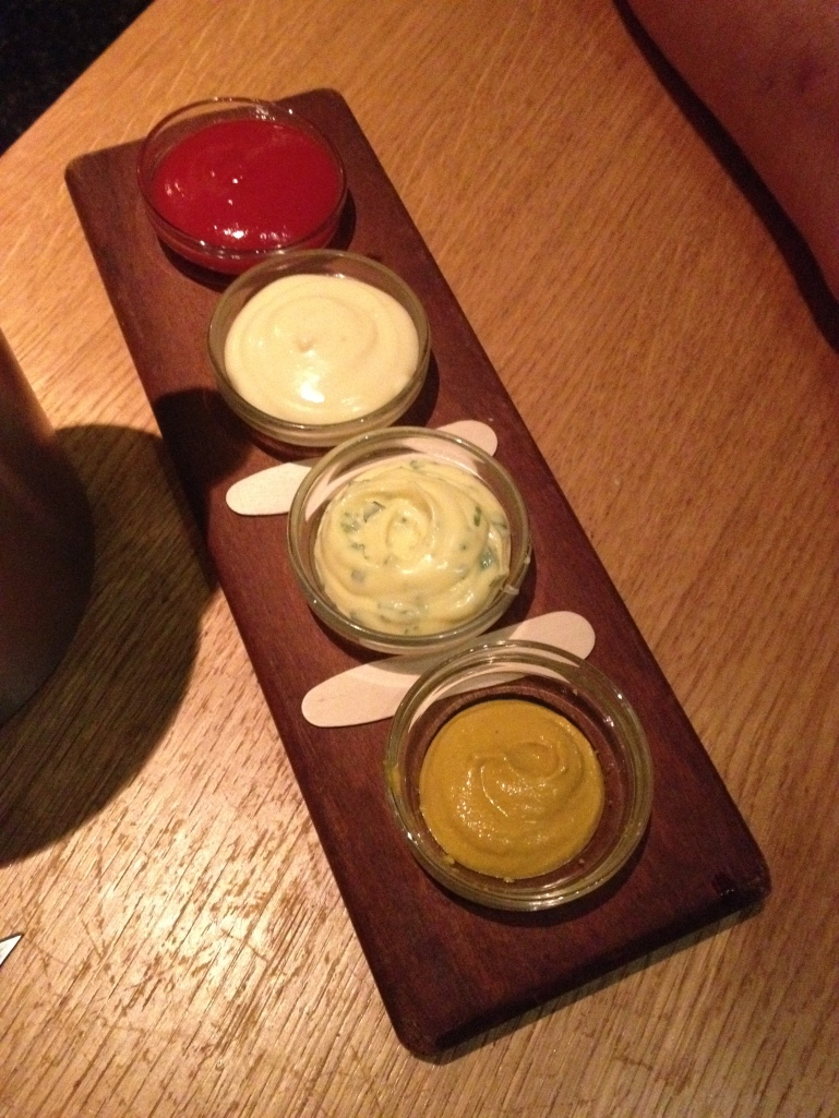 Tramshed review sauces Emma Rose Tully