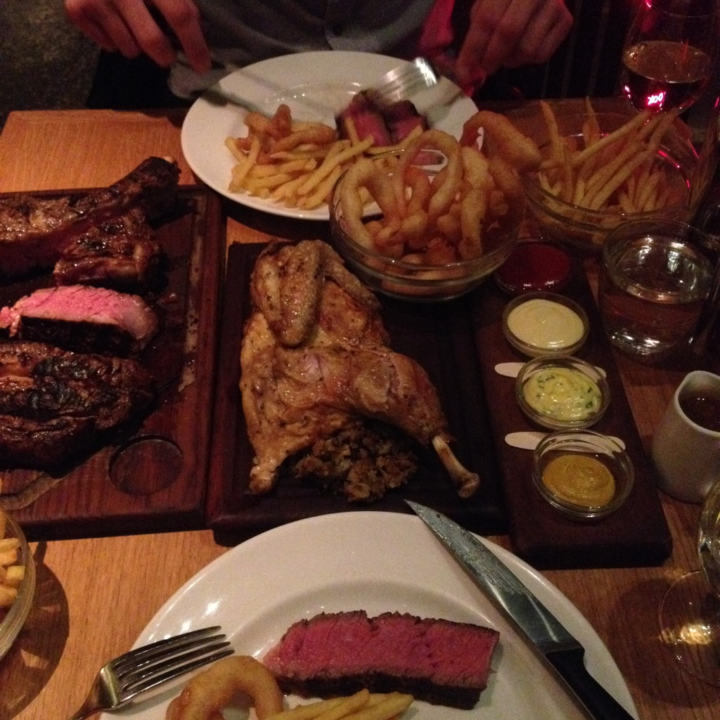 Tramshed review steak and chicken emma rose tully