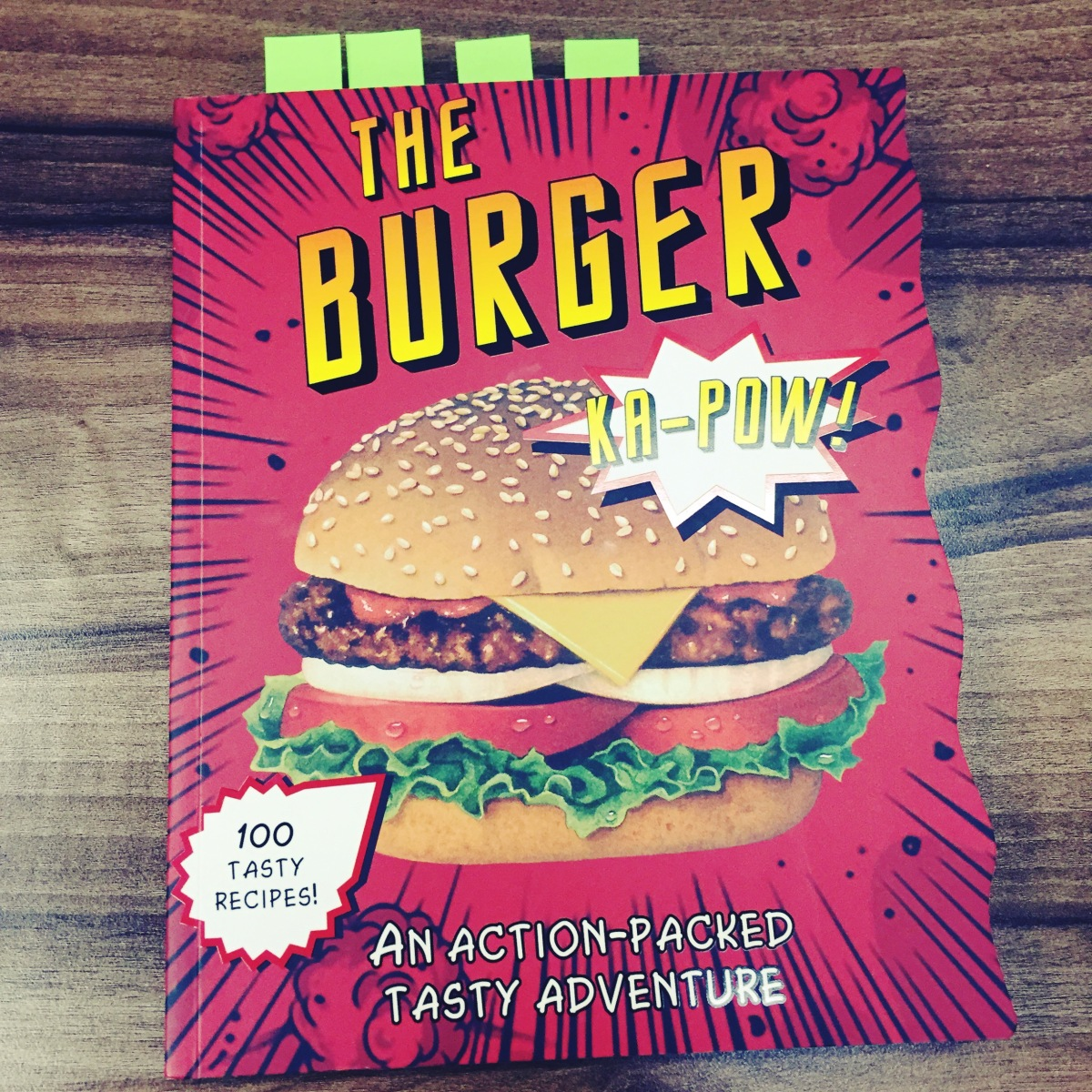 The Burger Cookbook