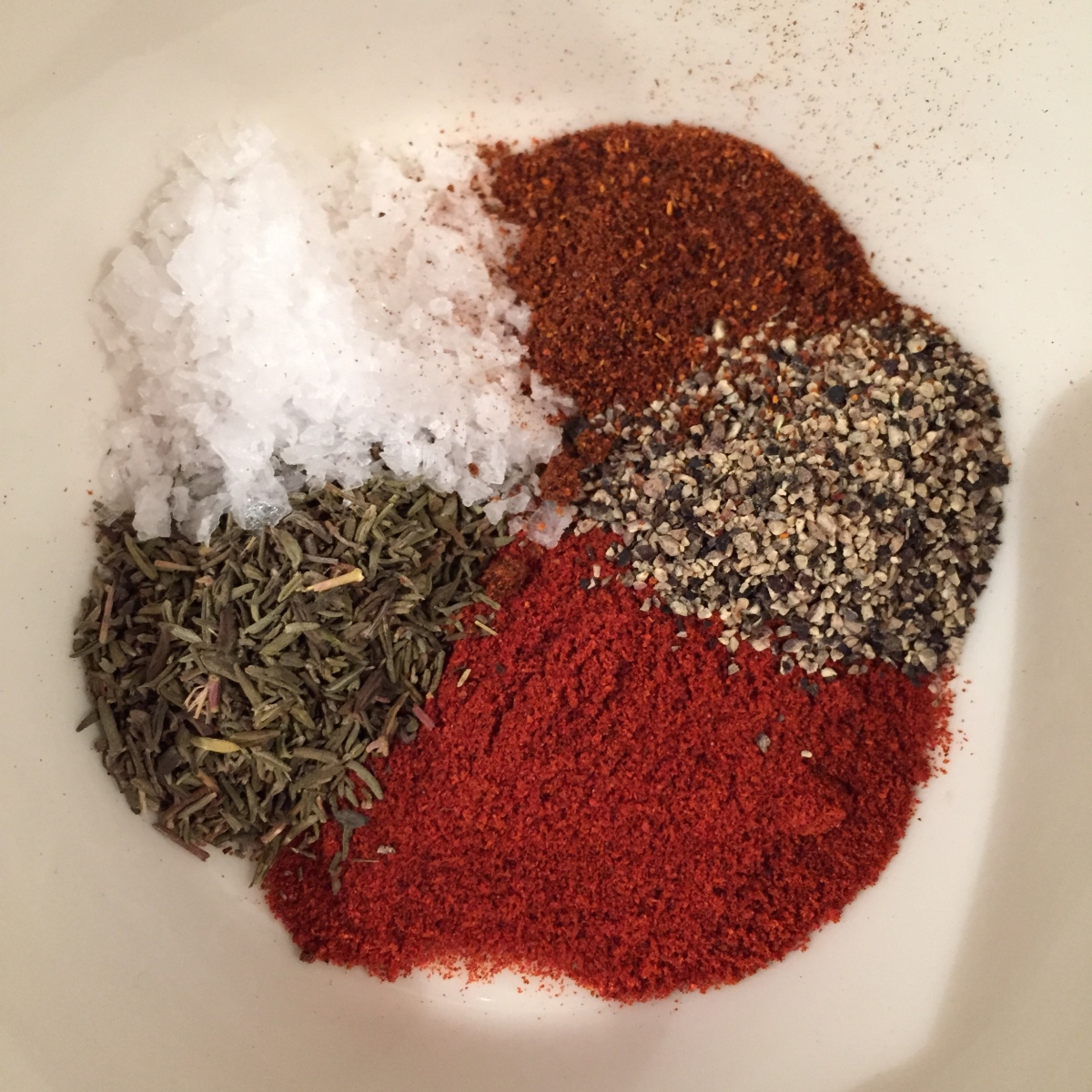 Black Pepper Spice Rub