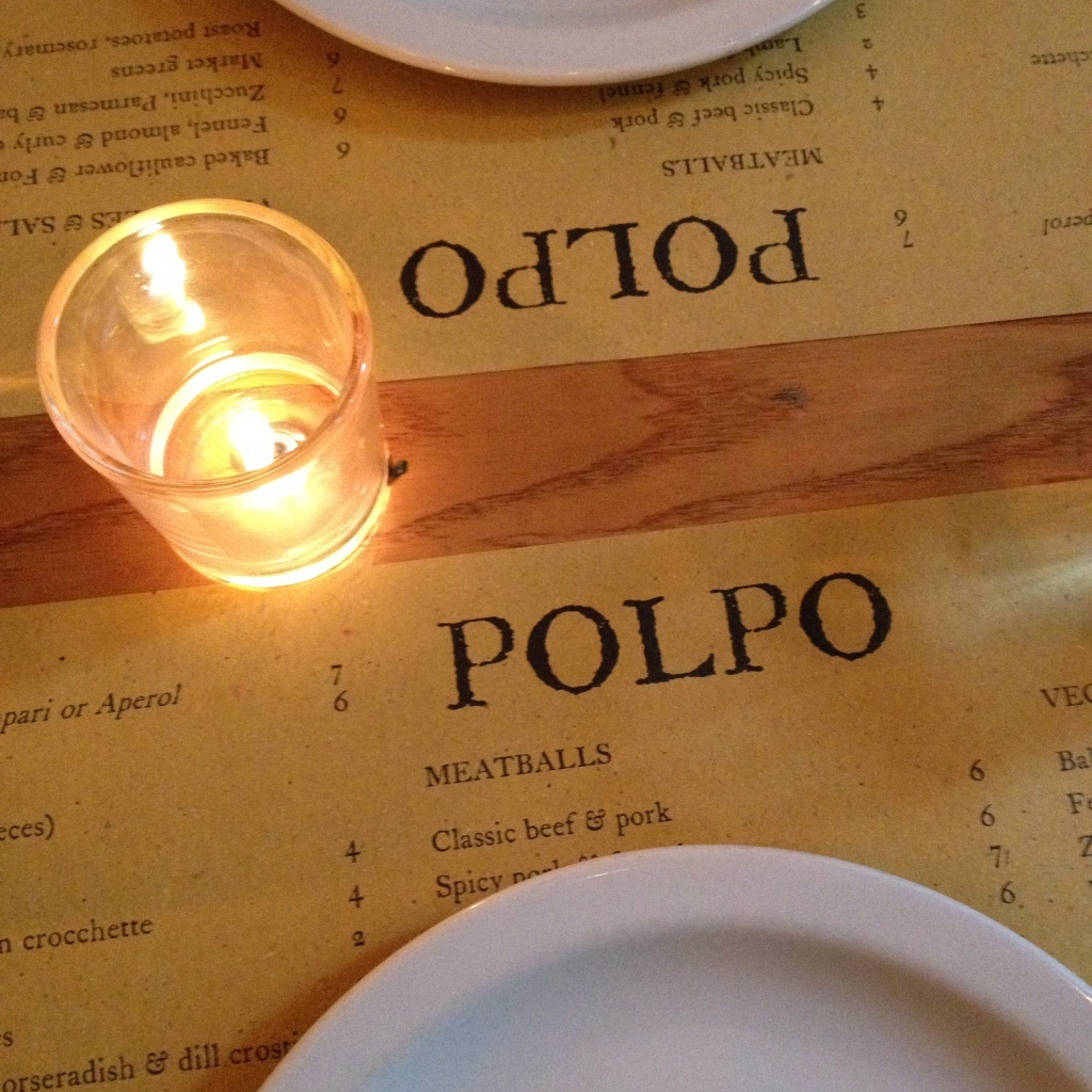 polpo covent garden blogger review