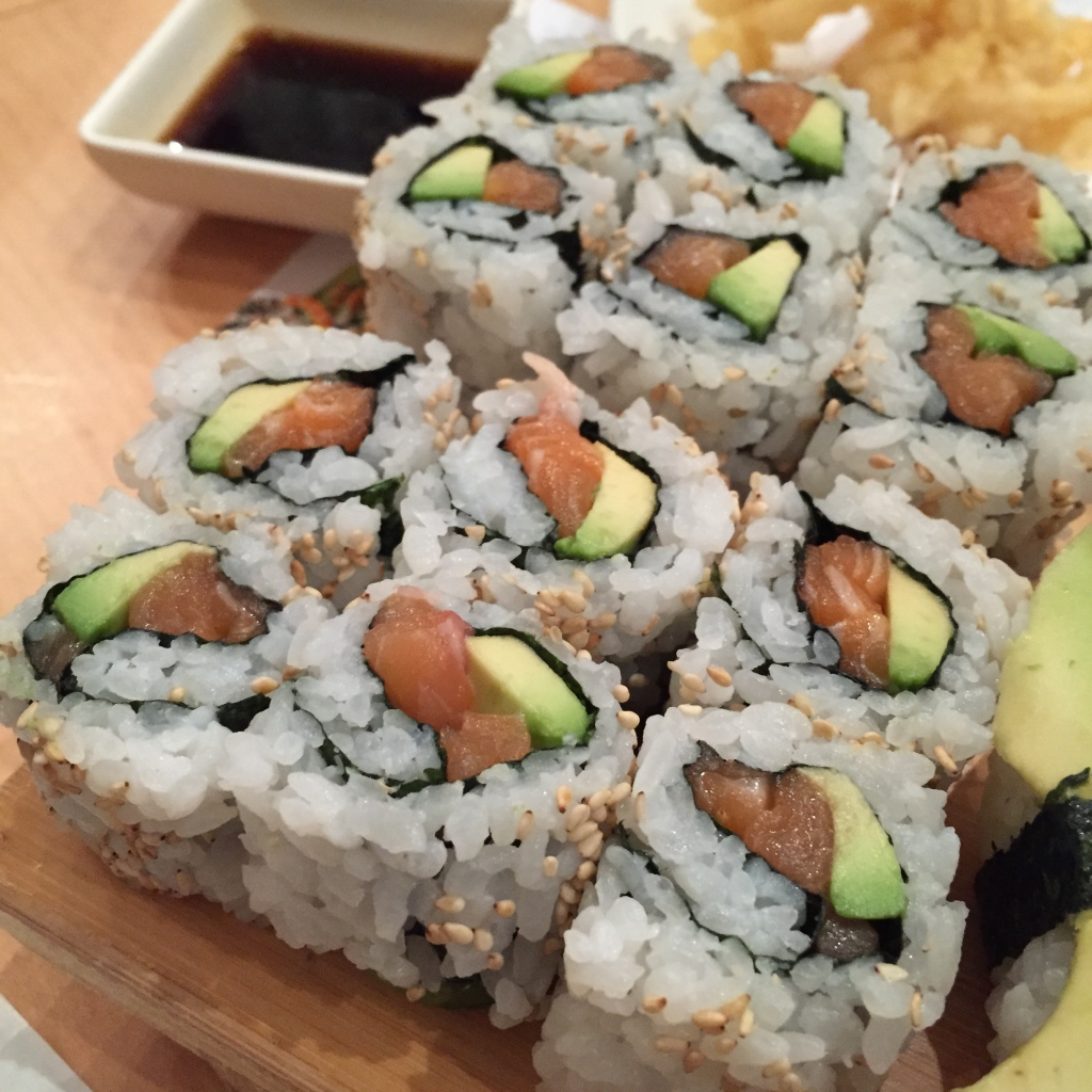 sushi cafe battersea California rolls