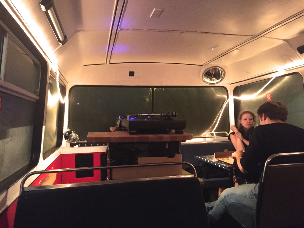 the crust conductor bus sound system