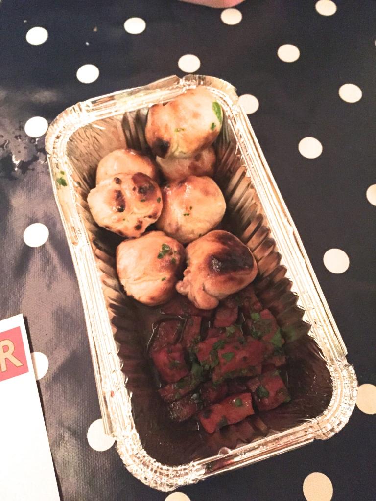 baked chorizo