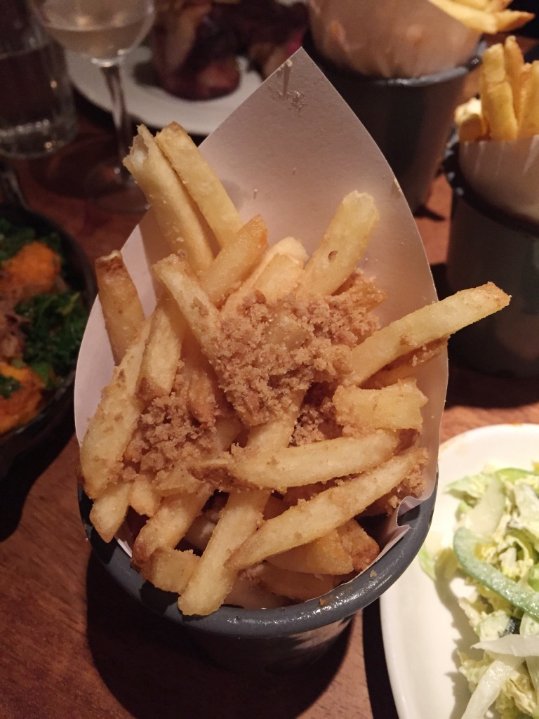 Foxlow Skin-on Fries with chicken salt