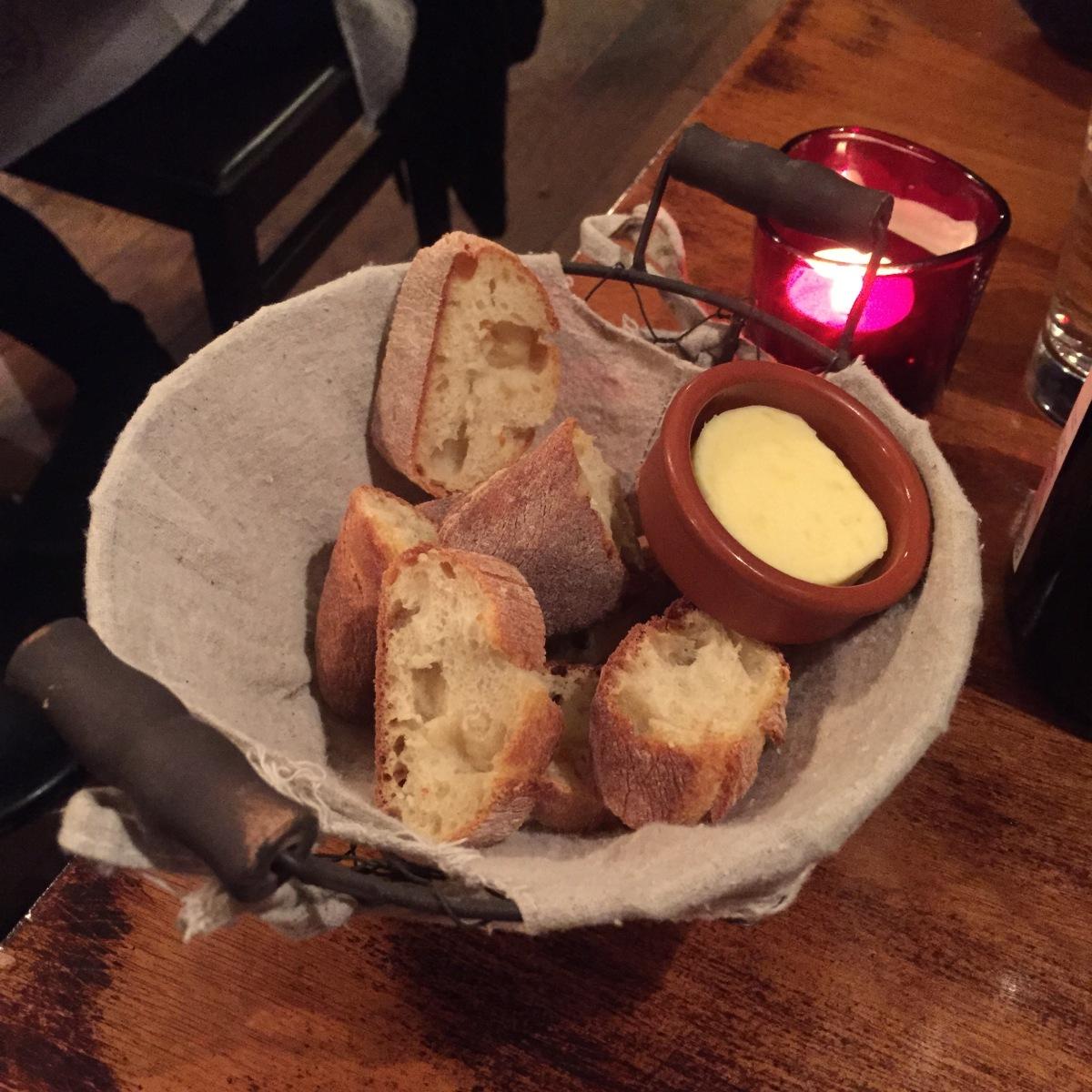 La Bonne Heure Basket of Bread