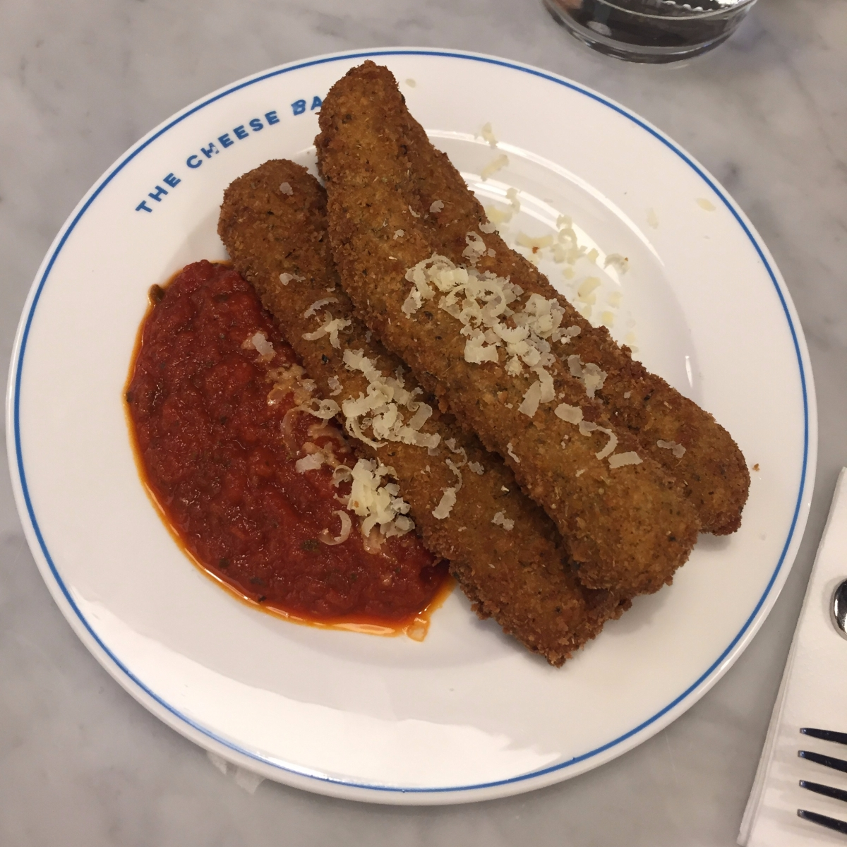 Mozzarella Sticks, Marinara Sauce
