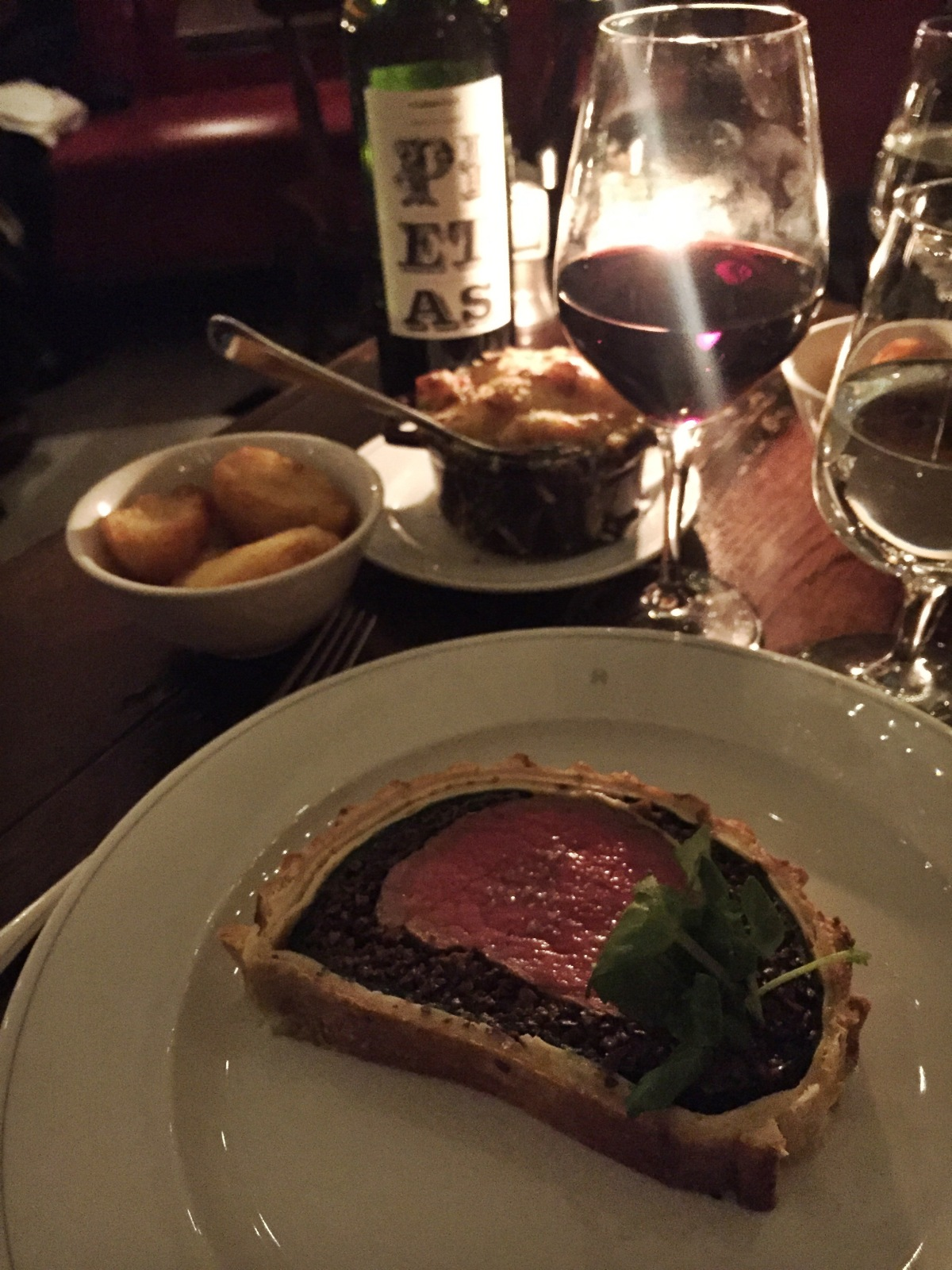 Holborn Dining Rooms Beef Wellington